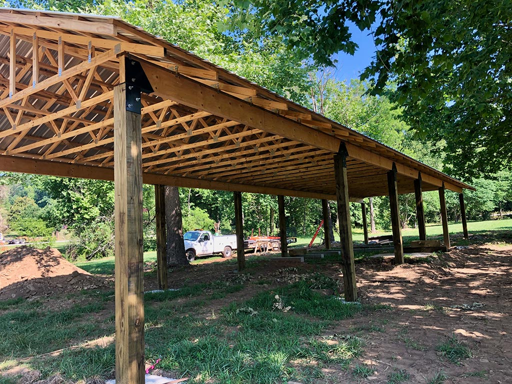 Pole Barn Construction McClure North GA
