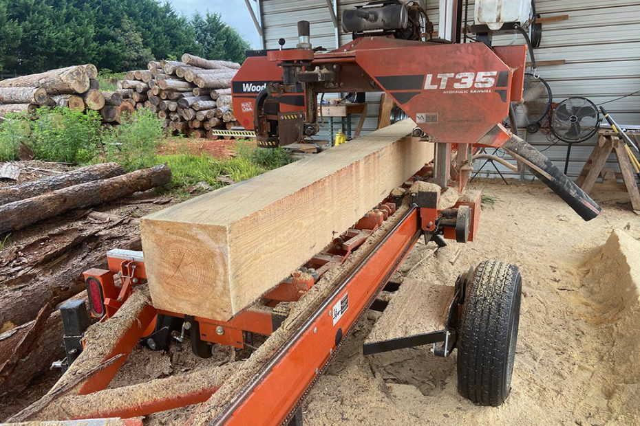 McClure North GA Custom Sawmilling