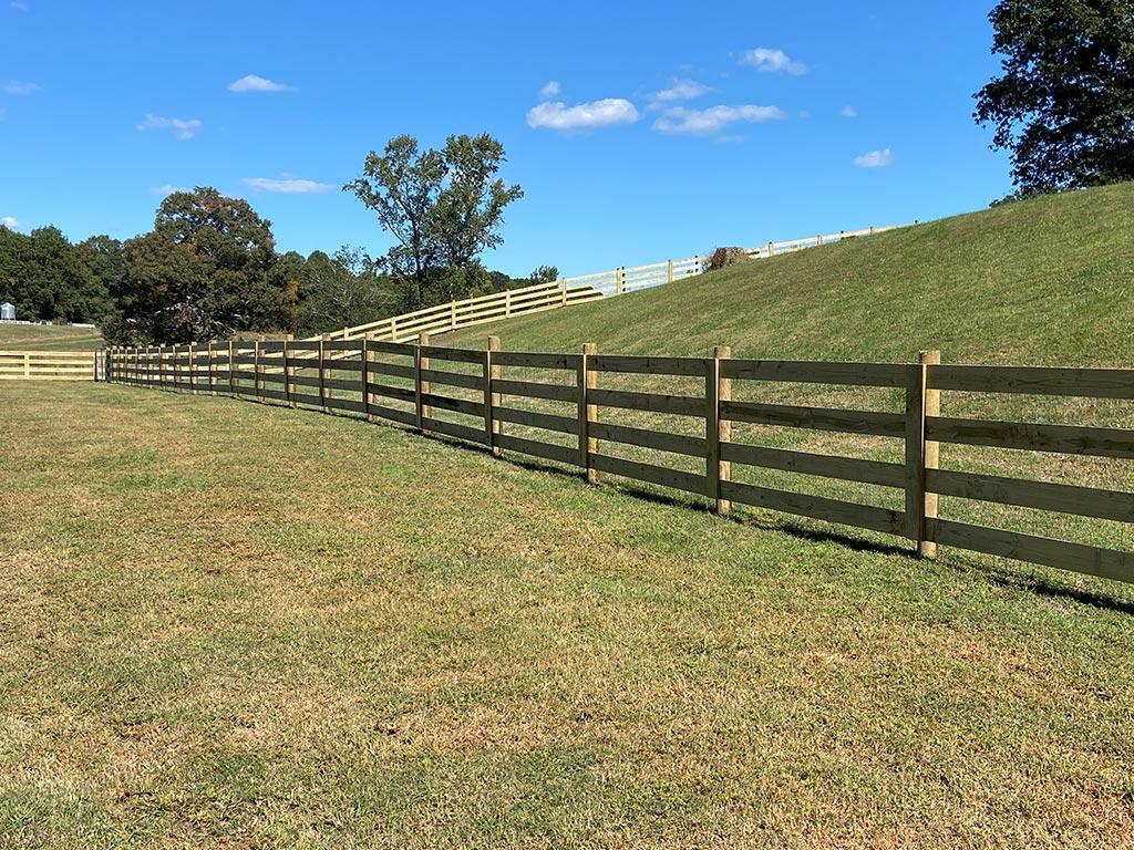 McClure North Georgia 4 Board Goat Wire Fence