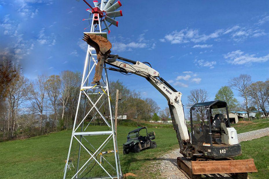 McClure North GA Windmill